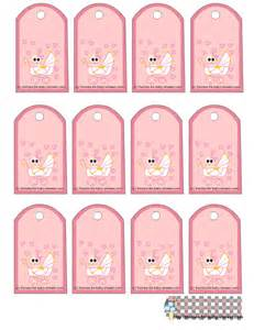 Free baby shower gift tags print baby wall