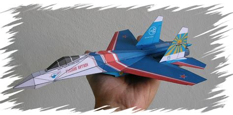 How To Make A Paper Jet Fighter Step By Step - flyable modern jets realistic 3d paper airplane models