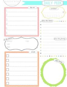free pages templates free printable planner pages activity shelter