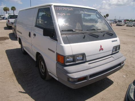 mitsubishi van 1988 ja7fn23l8ja008515 bidding ended on 1988 white mitsubishi