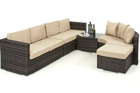 corner sofa with integrated table barcelona corner group with integrated ice bucket crownhill