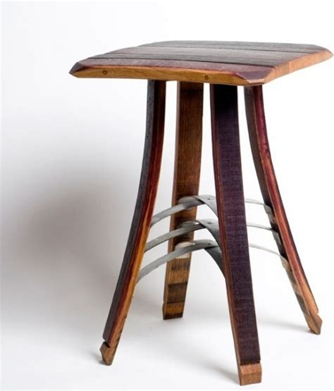 Barrel Side Table Wine Barrel Side Table Wine Barrel And Furniture Pinterest