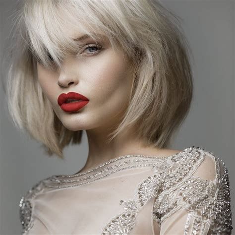 blonde bob red lips 17 best images about fashion beauty favorites on pinterest
