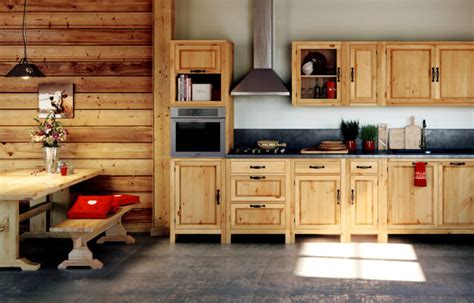 id馥 de cr馘ence pour cuisine id 233 es d 233 co montagne une cuisine en bois esprit chalet