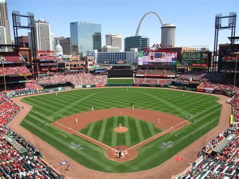 St Baseball busch stadium st louis cardinals stadium journey