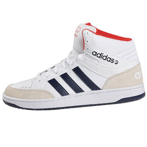 adidas neo high for adidas neo vlneo hoops mid mens leather high sneakers