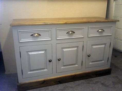 shabby chic painted pine sideboard
