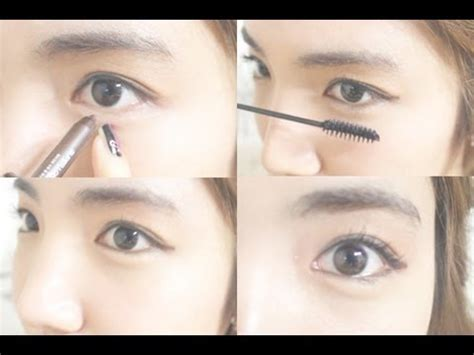 tutorial makeup like korean korean daily eye makeup tutorial wishtrend youtube