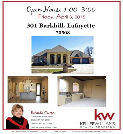 open house today walker s village subdivision lafayette 70508 301 barkhill house