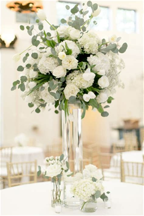 black vases for wedding centerpieces 2017 wedding trends top 30 greenery wedding decoration ideas