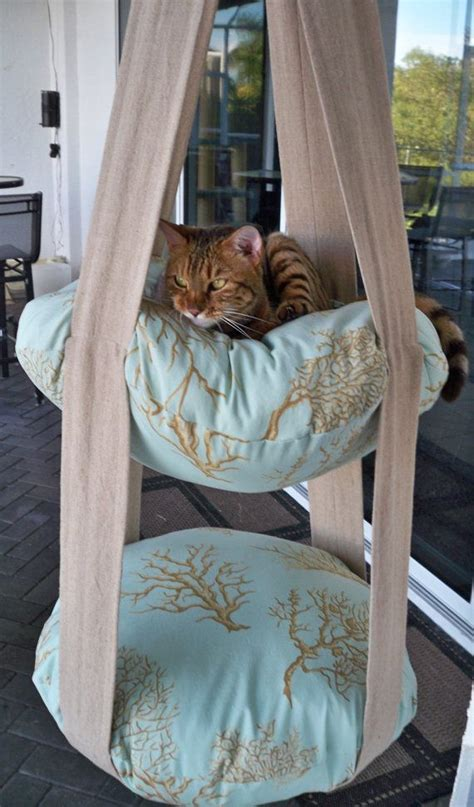 hanging cat bed 25 best ideas about cat hammock on pinterest diy cat toys cat things and cat stuff