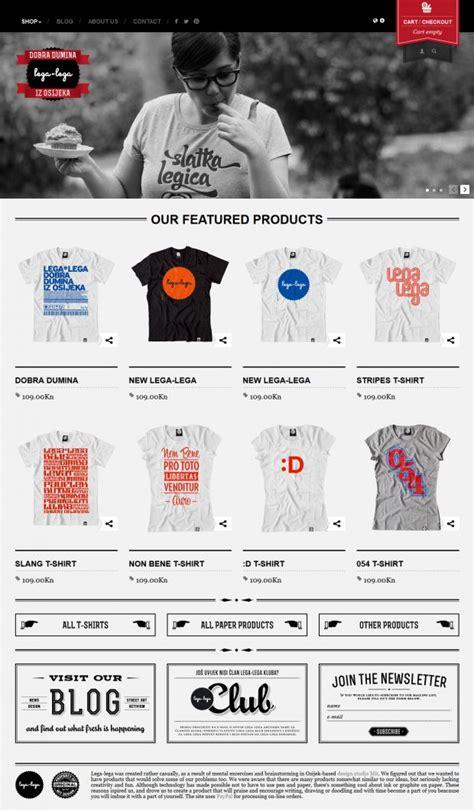 design inspiration online shop lega lega online shop webdesign inspiration www