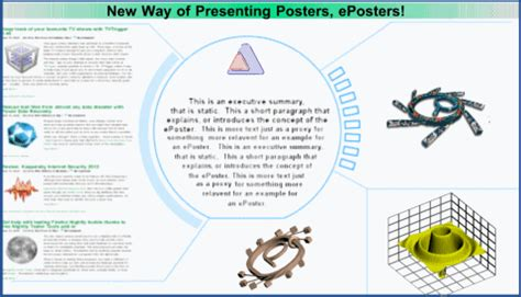 eposter template electronic posters