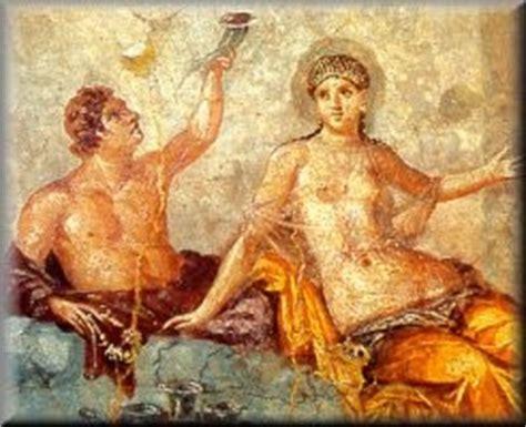 banchetti romani le donne romane e vino colonia iulia fanestris