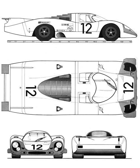 917 Sketches Of Success by Porsche 917