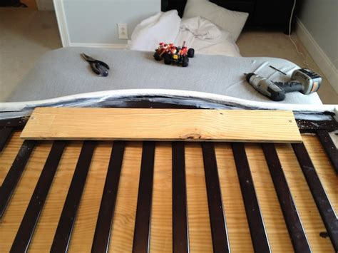 Upholstered Crib Diy by Crib To Upholstered Headboard Diy Chaotically Creative