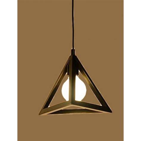 Iron Pyramid Mini Pendant Light Lightosphere Pyramid Pendant Light