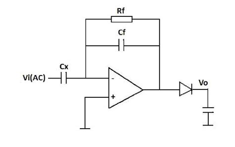 what is diode capacitance capacitor measure capacitance with opa604 and this circuit electrical engineering stack exchange