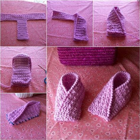 knitted slippers for toddlers how to diy easy knitted toddler slippers