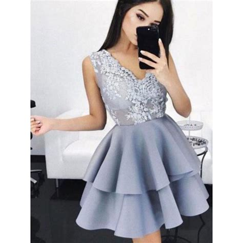 Promo Promo Termurah Dress Gucci V mini prom dresses lavender mini homecoming dresses mini homecoming dresses 2017