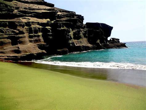sand beaches green sand beach hole stories