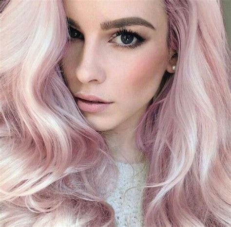 hair pink calaway and pastel pink hair trendy hair