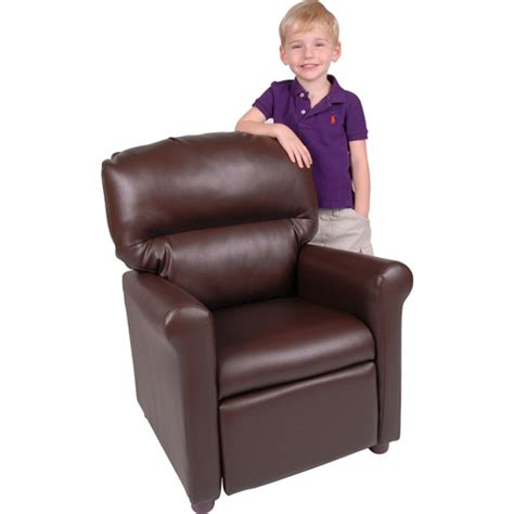 child recliner walmart better homes and gardens faux leather kids recliner