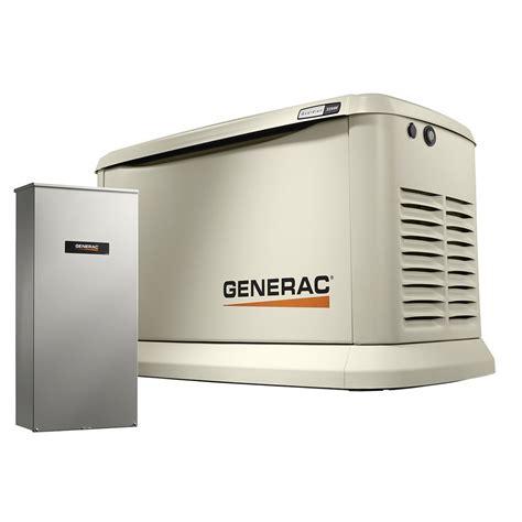 Generac Guardian 22kw Standby Generator Generac Guardian 7043 22kw Aluminum Automatic Standby