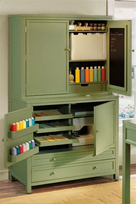 Martha Stewart Armoire by Martha Stewart Craft Space Cabinets