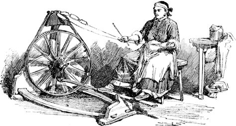 spinning jenny clipart