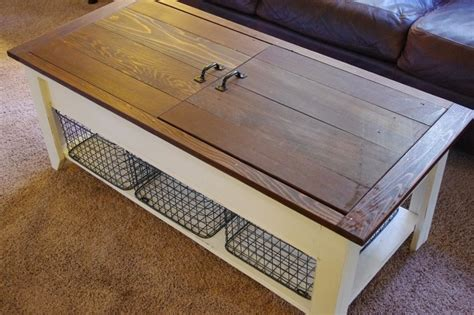 Build A Coffee Table With Storage Coffee Table And Lego Storage In One Your Projects Obn