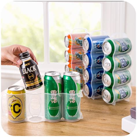 soda racks for cans soda can organizer home solutions tasterich
