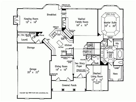 eplans new american house plan country aura 3728