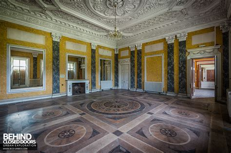 marble room tottenham house wiltshire uk 187 urbex closed doors exploring abandoned locations