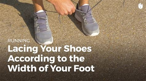 lacing running shoes for wide lacing your shoes wide narrow running