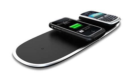 wireless charging station powermat home office mat wireless charger iphone ipod