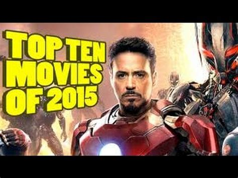 recommended film in 2015 top 10 best movies of 2015 youtube