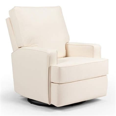 best recliner for nursery lean back with your little one on this plush swivel glider