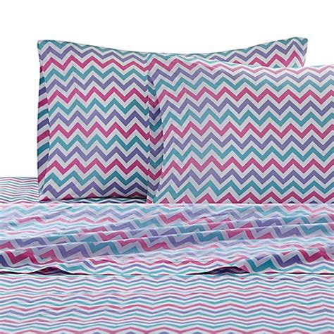 chevron bed sheets julissa chevron sheet set bed bath beyond