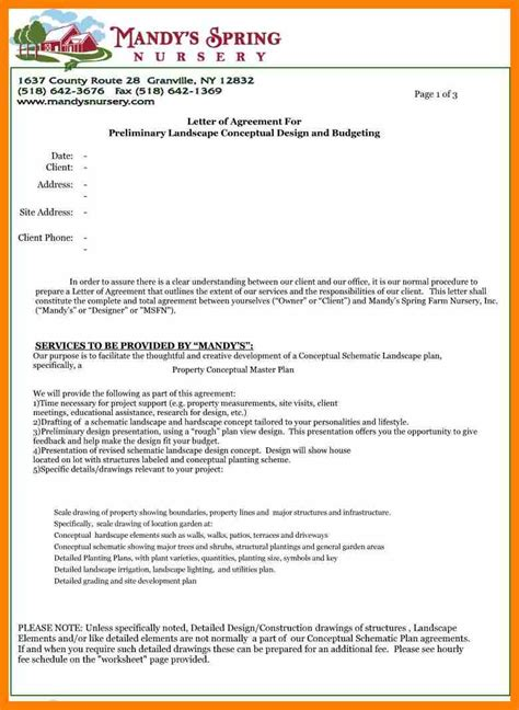 Contract Letter For Business 8 contract agreement letter sle commerce invoice
