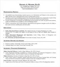education resume template word resume template 9 documents in pdf