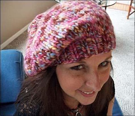 beret knitting pattern easy free free knit patterns for hats infobarrel