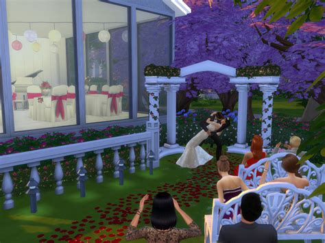 Wedding Arch Sims 4 Cc by Spacesims Aphrodite Wedding Venue