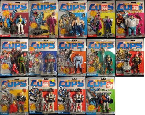 c o p s figures c o p s toys search my childhood can
