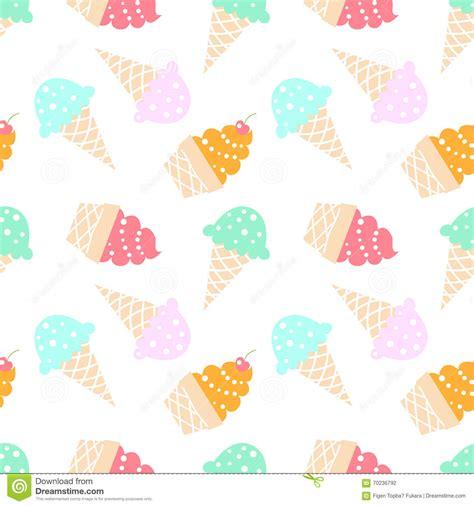 seamless pattern ice ice cream pattern stock vector illustration of mint