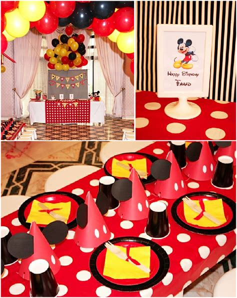 printable party decorations birthday a retro mickey inspired birthday party party ideas