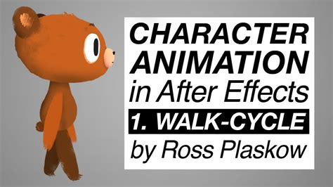 Tutorial Simple After Effects Cc Character Animator how to make a character animation after