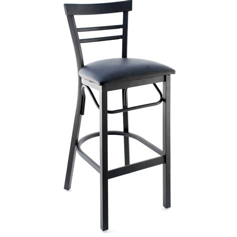 ladderback bar stools rounded ladder back metal bar stool
