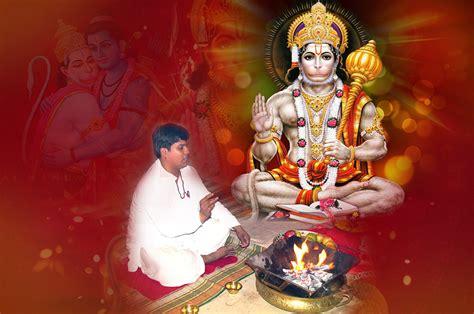 hanuman puja vidhi sadhana pooja hanuman jayanti puja rudraksha ratna