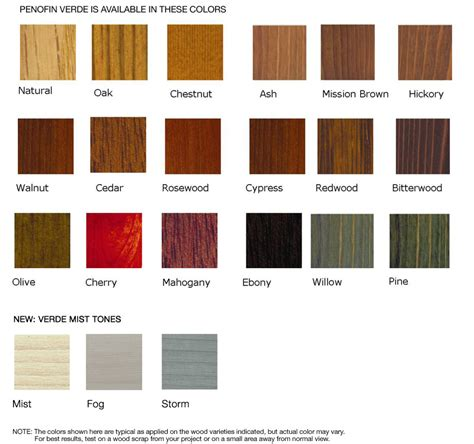pine wood stain color chart f f info 2017